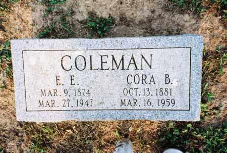 COLEMAN, CORA - Meigs County, Ohio | CORA COLEMAN - Ohio Gravestone Photos