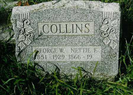 COLLINS, NETTIE F. - Meigs County, Ohio | NETTIE F. COLLINS - Ohio Gravestone Photos