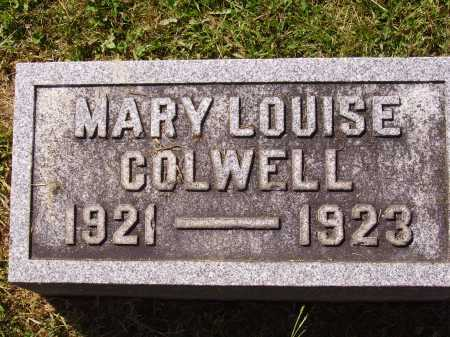 COLWELL, MARY LOUISE - Meigs County, Ohio   MARY LOUISE COLWELL - Ohio Gravestone Photos