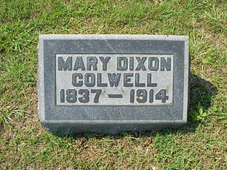COLWELL, MARY DIXON - Meigs County, Ohio | MARY DIXON COLWELL - Ohio Gravestone Photos