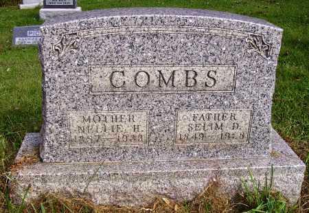 COMBS, SELIM D. - Meigs County, Ohio   SELIM D. COMBS - Ohio Gravestone Photos