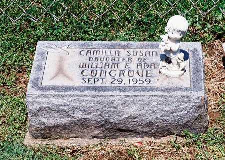 CONGROVE, CAMILLA SUSAN - Meigs County, Ohio | CAMILLA SUSAN CONGROVE - Ohio Gravestone Photos