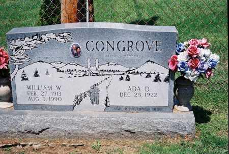 CONGROVE, WILLIAM W. - Meigs County, Ohio | WILLIAM W. CONGROVE - Ohio Gravestone Photos