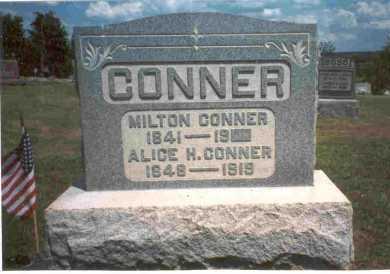 CONNER, MILTON - Meigs County, Ohio | MILTON CONNER - Ohio Gravestone Photos