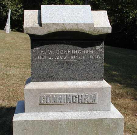CONNINGHAM, A.W. - Meigs County, Ohio   A.W. CONNINGHAM - Ohio Gravestone Photos