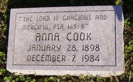 COOK, ANNA - Meigs County, Ohio   ANNA COOK - Ohio Gravestone Photos