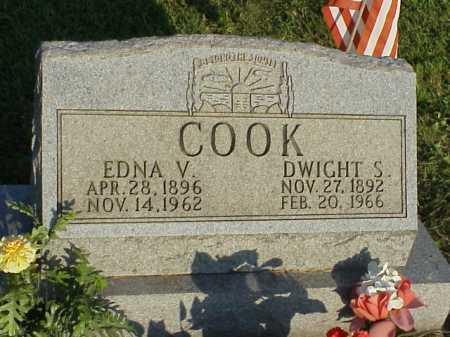 COOK, EDNA V. - Meigs County, Ohio | EDNA V. COOK - Ohio Gravestone Photos
