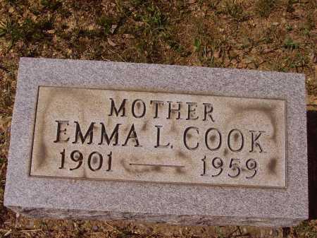 COOK, EMMA L. - Meigs County, Ohio | EMMA L. COOK - Ohio Gravestone Photos