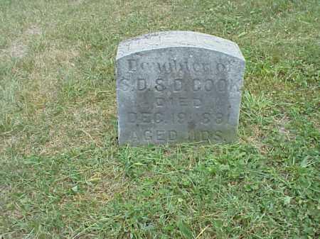 COOK, INFANT - Meigs County, Ohio   INFANT COOK - Ohio Gravestone Photos