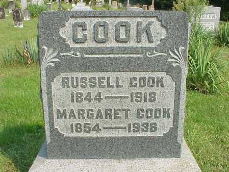 COOK, MARGARET - Meigs County, Ohio | MARGARET COOK - Ohio Gravestone Photos