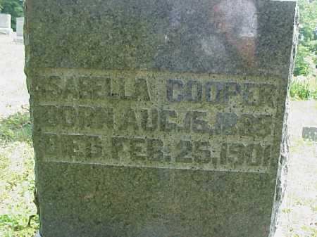 COOPER, ISABELLA - Meigs County, Ohio   ISABELLA COOPER - Ohio Gravestone Photos