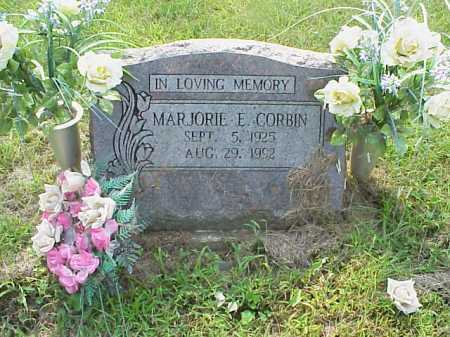 CORBIN, MARJORIE E. - Meigs County, Ohio   MARJORIE E. CORBIN - Ohio Gravestone Photos