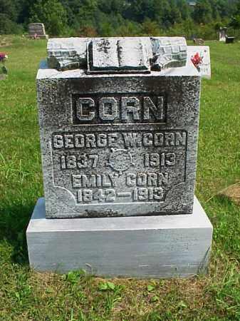 ALESHIRE CORN, EMILY - Meigs County, Ohio   EMILY ALESHIRE CORN - Ohio Gravestone Photos