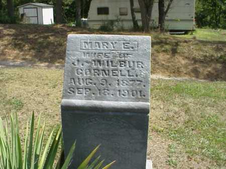CORNELL, MARY E. - Meigs County, Ohio   MARY E. CORNELL - Ohio Gravestone Photos