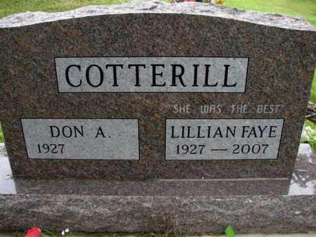 COTTERILL, DON ALAN - Meigs County, Ohio | DON ALAN COTTERILL - Ohio Gravestone Photos