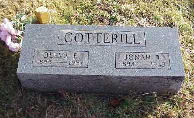 COTTERILL, OLEVA E. - Meigs County, Ohio | OLEVA E. COTTERILL - Ohio Gravestone Photos