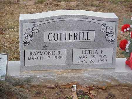 COTTERILL, LETHA F. - Meigs County, Ohio   LETHA F. COTTERILL - Ohio Gravestone Photos