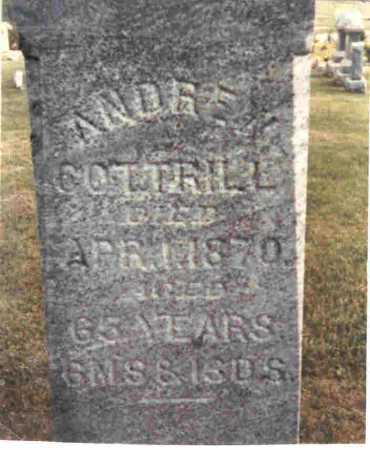COTTRILL, ANDREW - Meigs County, Ohio | ANDREW COTTRILL - Ohio Gravestone Photos