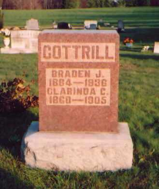 COOK COTTRILL, CLARINDA - Meigs County, Ohio | CLARINDA COOK COTTRILL - Ohio Gravestone Photos