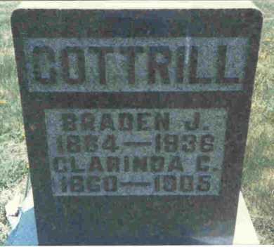 COTTRILL, CLARINDA - Meigs County, Ohio | CLARINDA COTTRILL - Ohio Gravestone Photos