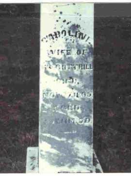 WOOD COTTRILL, CAROLINE - Meigs County, Ohio | CAROLINE WOOD COTTRILL - Ohio Gravestone Photos