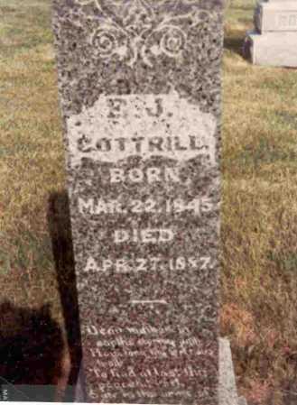 COTTRILL, ELIZA JANE - Meigs County, Ohio   ELIZA JANE COTTRILL - Ohio Gravestone Photos