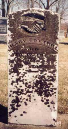 COTTRILL, HENRY - Meigs County, Ohio | HENRY COTTRILL - Ohio Gravestone Photos