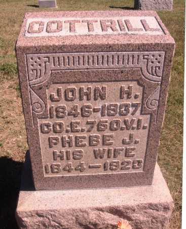 COTTRILL, PHEBE JANE - Meigs County, Ohio | PHEBE JANE COTTRILL - Ohio Gravestone Photos