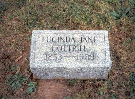 COTTRILL, LUCINDA JANE - Meigs County, Ohio | LUCINDA JANE COTTRILL - Ohio Gravestone Photos