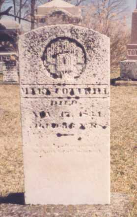 COTTRILL, MARY - Meigs County, Ohio | MARY COTTRILL - Ohio Gravestone Photos