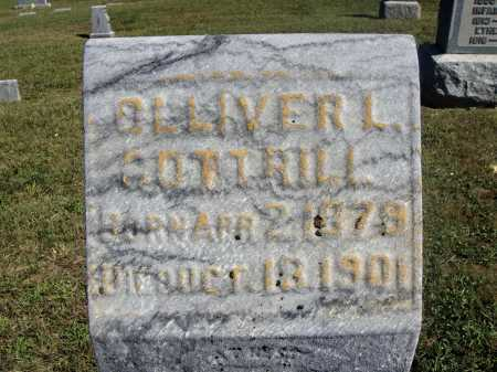 COTTRILL, OLLIVER L. - CLOSE VIEW - Meigs County, Ohio | OLLIVER L. - CLOSE VIEW COTTRILL - Ohio Gravestone Photos
