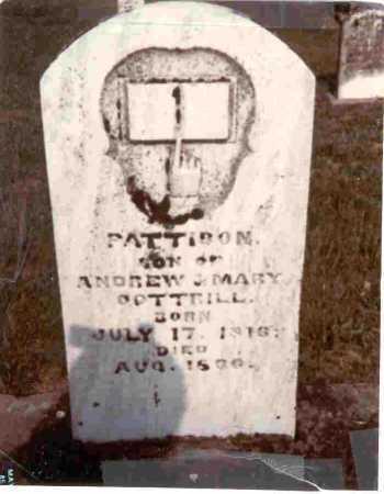 COTTRILL, PATTISON - Meigs County, Ohio | PATTISON COTTRILL - Ohio Gravestone Photos