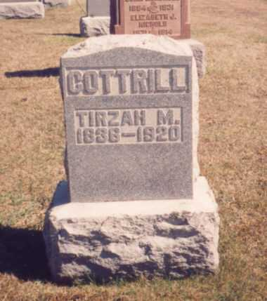 MCLAIN COTTRILL, TIRZAH M. - Meigs County, Ohio | TIRZAH M. MCLAIN COTTRILL - Ohio Gravestone Photos