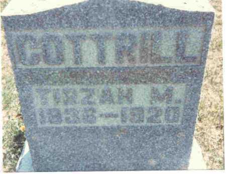 COTTRILL, TIRZAH M. - Meigs County, Ohio | TIRZAH M. COTTRILL - Ohio Gravestone Photos