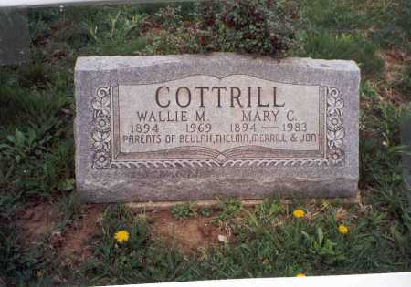 COTTRILL, MARY  C. - Meigs County, Ohio | MARY  C. COTTRILL - Ohio Gravestone Photos