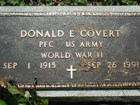 COVERT, DONALD E. - Meigs County, Ohio | DONALD E. COVERT - Ohio Gravestone Photos
