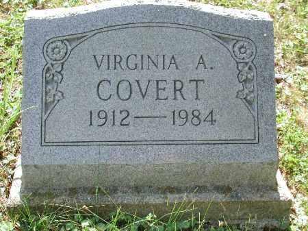 COVERT, VIRGINIA A. - Meigs County, Ohio | VIRGINIA A. COVERT - Ohio Gravestone Photos