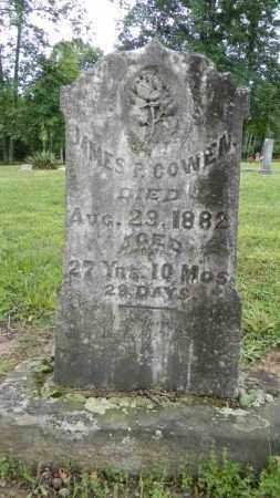 COWEN, JAMES P. - Meigs County, Ohio | JAMES P. COWEN - Ohio Gravestone Photos
