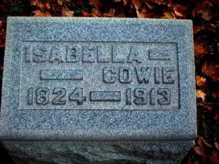 LEE COWIE, ISABELLA - Meigs County, Ohio | ISABELLA LEE COWIE - Ohio Gravestone Photos