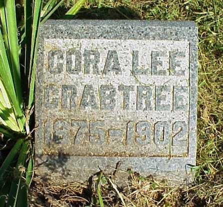 CRABTREE, CORA LEE - Meigs County, Ohio | CORA LEE CRABTREE - Ohio Gravestone Photos