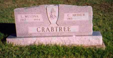 CRABTREE, C. ARTHUR - Meigs County, Ohio | C. ARTHUR CRABTREE - Ohio Gravestone Photos