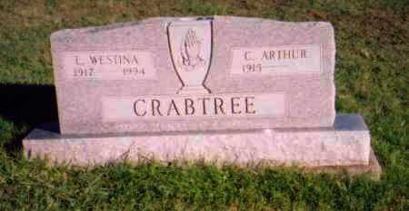 CRABTREE, L. WESTINA - Meigs County, Ohio | L. WESTINA CRABTREE - Ohio Gravestone Photos