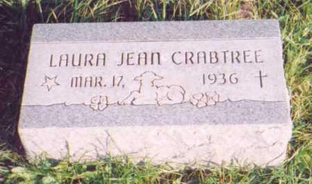 CRABTREE, LAURA JEAN - Meigs County, Ohio | LAURA JEAN CRABTREE - Ohio Gravestone Photos