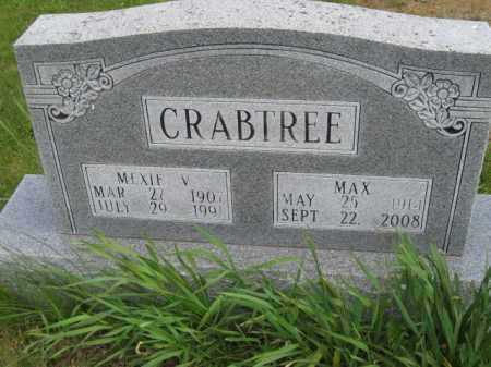 CRABTREE, MEXIE V - Meigs County, Ohio | MEXIE V CRABTREE - Ohio Gravestone Photos