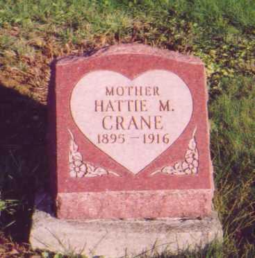 TOWNSEND CRANE, HATTIE M. - Meigs County, Ohio   HATTIE M. TOWNSEND CRANE - Ohio Gravestone Photos