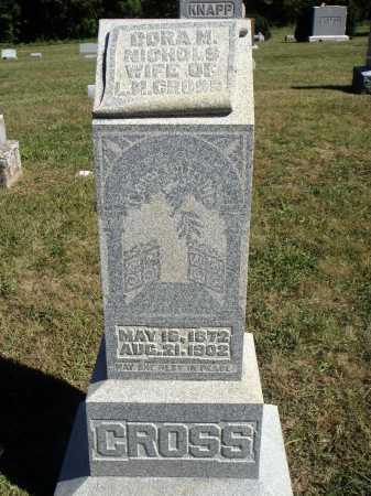 CROSS, CORA M. - Meigs County, Ohio | CORA M. CROSS - Ohio Gravestone Photos