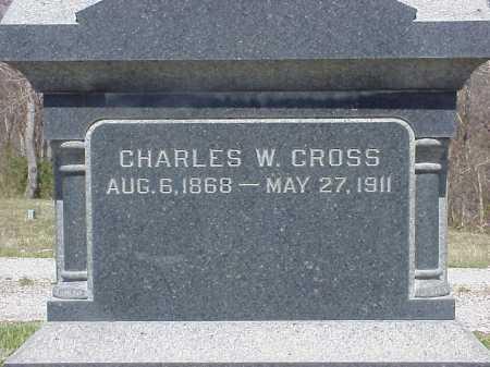 CROSS, CHARLES W. - Meigs County, Ohio | CHARLES W. CROSS - Ohio Gravestone Photos