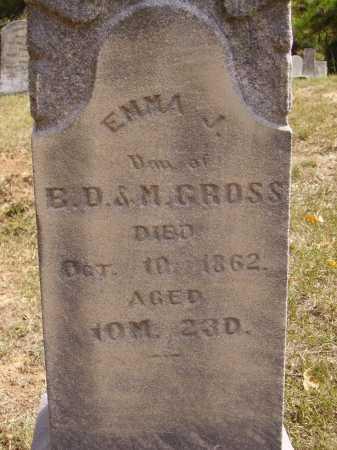 CROSS, EMMA - Meigs County, Ohio   EMMA CROSS - Ohio Gravestone Photos