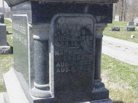 CROSS, HARVEY W. - Meigs County, Ohio | HARVEY W. CROSS - Ohio Gravestone Photos