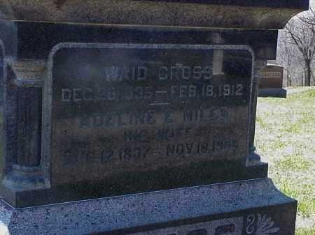 CROSS, WAID - Meigs County, Ohio | WAID CROSS - Ohio Gravestone Photos